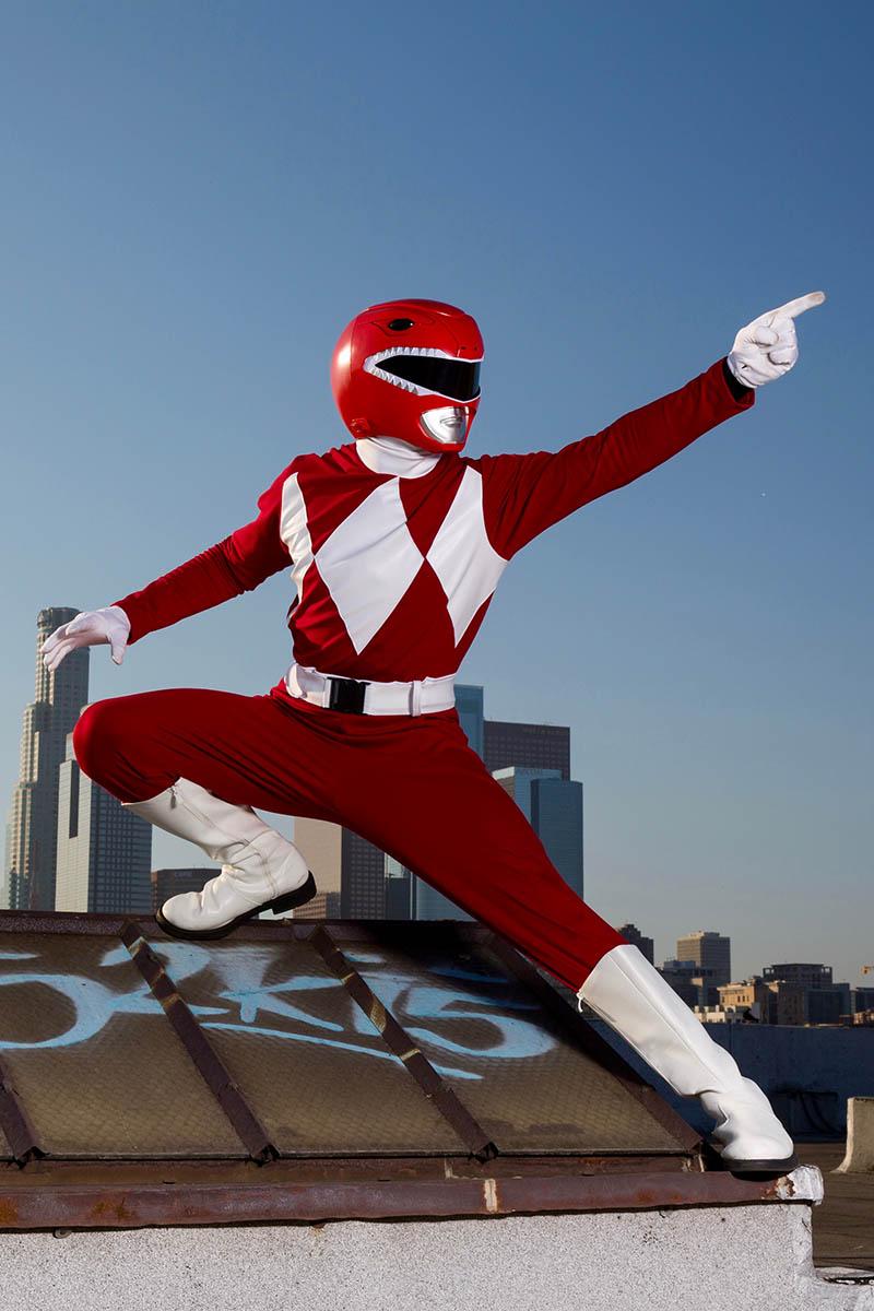 Superhero power ranger party character for kids in san jose